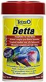 Tetra Betta - hochwertiges Fischfutter speziell entwickelt für Betta splendens und andere Labyrinthfische, 100 ml Dose