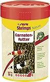 sera Shrimps Nature 100 ml (55 g) - Garnelenfutter mit Spirulina und Erlenzapfen, für Garnelen sowie Axolotl Futter