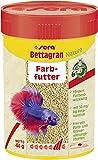 sera Bettagran Nature 100 ml (48 g) - Feingranulat mit 50mg/kg Futter natürlichem Astaxanthin für Betta, Fischfutter fürs Aquarium Salmler, Neon & Co.