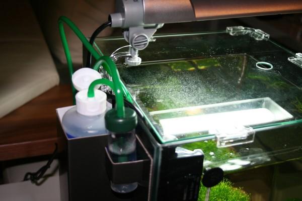 Bio-CO2-Anlage für besseres Pflanzenwachstum im Aquarium