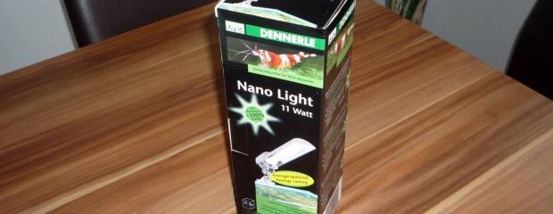 Testbericht: Dennerle Nano Light 11 Watt – schicke und sparsame Aquariumbeleuchtung