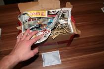 Garnelen-Paket mit Heatpack