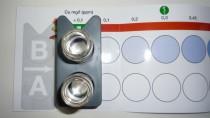 Kupfer-Test Farben-Check