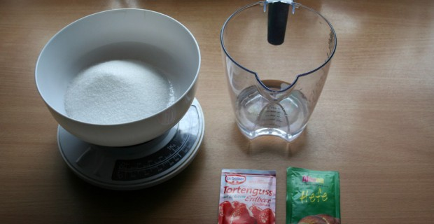 Bio Co2 Rezept – eigene Mischung mit Tortenguss, Hefe und Zucker