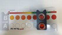 Magnesium-Test - Vergleich auf der Farbskala